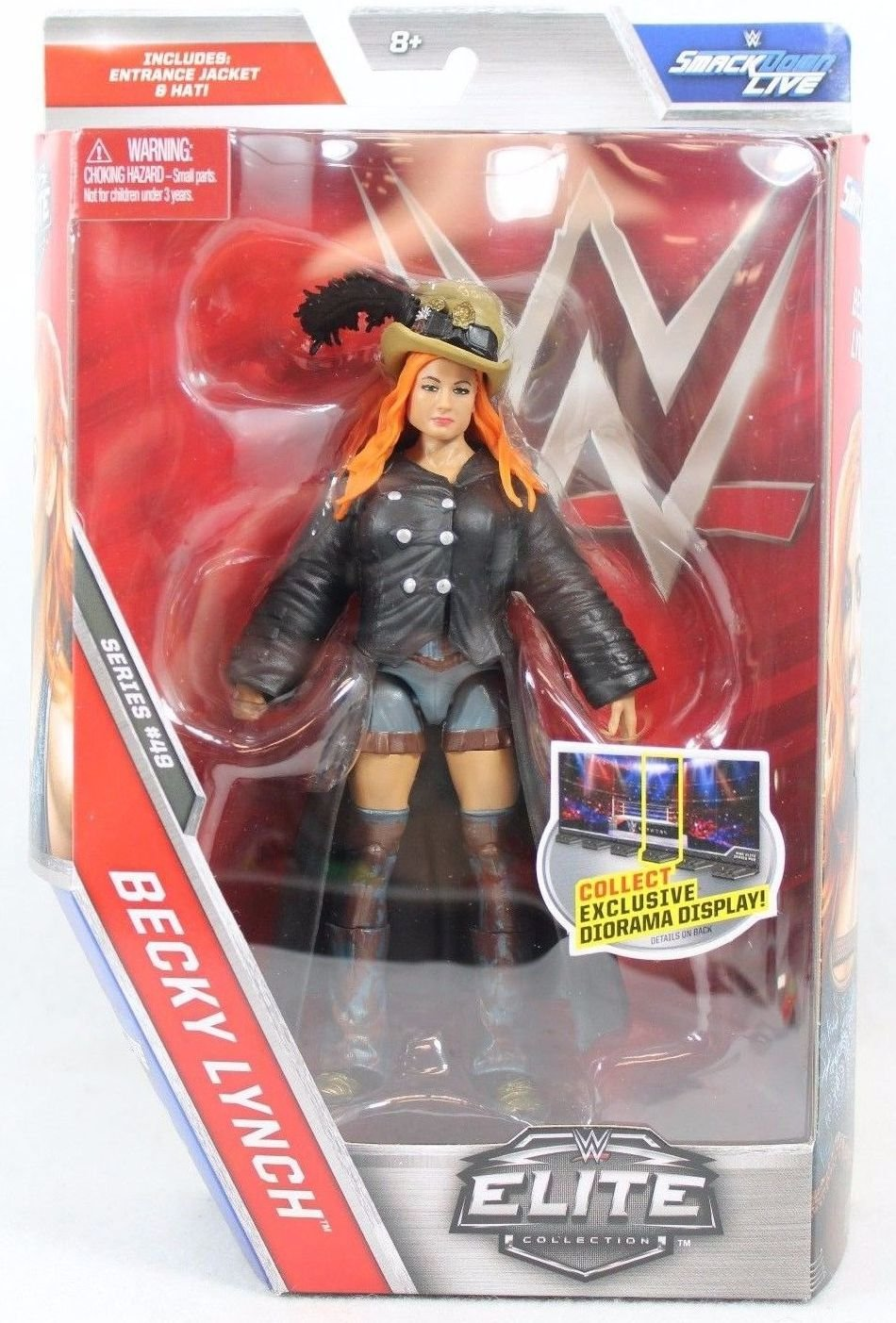 WWE Elite Series 49 Becky Lynch Action Figure