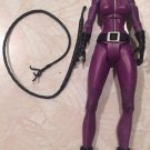 DC UNIVERSE CLASSICS WALMART EXCLUSIVE GOTHAM CITY 5 LOOSE PURPLE CATWOMAN ACTION FIGURE 2009 MATTEL