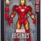 MARVEL LEGENDS SERIES 12 INCH IRON MAN ACTION FIGURE HASBRO 2016 AVENGERS TONY STARK ICONS BRAND NEW