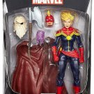 CASE OF EIGHT (8) MARVEL LEGENDS AVENGERS INFINITE SERIES CAPTAIN MARVEL ACTION FIGURES ALLFATHER