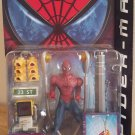 SPIDERMAN MOVIE SERIES 2 WEB SWINGING SPIDERMAN FIGURE W/ LAMPPOST SWINGING ACTION TOYBIZ 2002 NEW