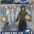 FANTASTIC FOUR MOVIE SERIES 3 TWO FACED DR DOOM W/ LIGHT & SOUND ROCKET LAUNCHER 2005 TOYBIZ