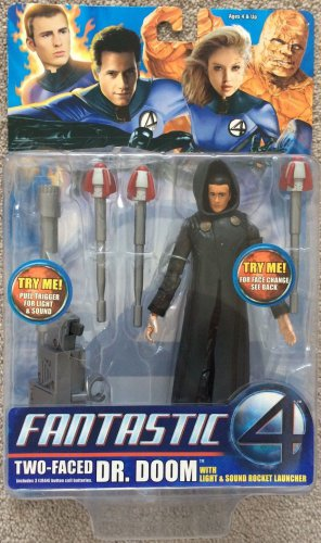 FANTASTIC FOUR MOVIE SERIES 3 TWO FACED DR DOOM W/ LIGHT
