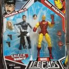 MARVEL LEGENDS TOYS R US EXCLUSIVE IRON MAN & MARIA HILL ACTION FIGURE 2 PACK HASBRO S.H.I.E.L.D.