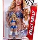 WWE HOT DIVA KELLY KELLY BASIC SERIES #18 ACTION FIGURE MATTEL WRESTLING NXT RAW 2012 BLUE SUIT NEW