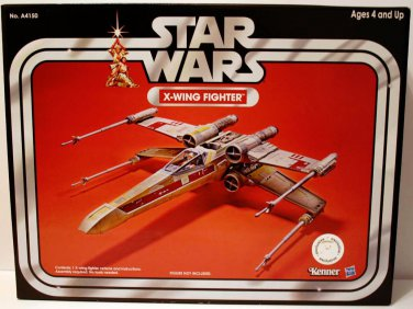 STAR WARS SAGA X-WING FIGHTER VEHICLE VINTAGE COLLECTION TOYS R US EXCLUSIVE 2013 RETURN JEDI HASBRO