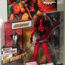 MARVEL LEGENDS HIT MONKEY SERIES WAVE 4 RED SHE HULK ACTION FIGURE ONLY 2013 HASBRO