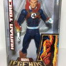 MARVEL LEGENDS ICONS SERIES HUMAN TORCH FLAME OFF 12 INCH FIGURE HASBRO FANTASTIC FOUR JOHNNY STORM