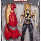 MARVEL LEGENDS AVENGERS INFINITE SERIES VALKYRIE 7 INCH ACTION FIGURE HULKBUSTER WAVE ASGARDIAN THOR