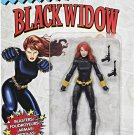 MARVEL LEGENDS VINTAGE SERIES BLACK WIDOW 6 INCH ACTION FIGURE 2017 RETRO CARD PACKAGING AVENGERS