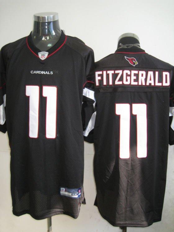Arizona Cardinals # 11 Fitzgerald NFL Jersey Black