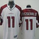 Arizona Cardinals # 11 Fitzgerald NFL Jersey White