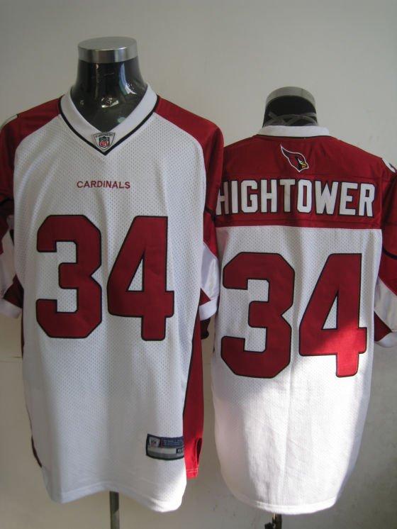 Arizona Cardinals # 34 Hightower NFL Jersey White