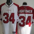 Arizona Cardinals # 34 Hightower NFL Jersey White