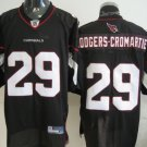 Arizona Cardinals # 29 Rodgers NFL Jersey Black