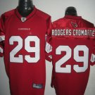 Arizona Cardinals # 29 Rodgers NFL Jersey Red