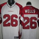 Arizona Cardinals # 26 Wells NFL Jersey White