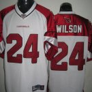 Arizona Cardinals # 24 Wilson NFL Jersey White