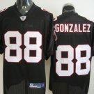 Atlanta Falcons # 88 Gonzalez NFL Jersey Black