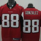Atlanta Falcons # 88 Gonzalez NFL Jersey Red