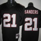Atlanta Falcons # 21 Sanders NFL Jersey Black