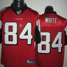 Atlanta Falcons # 84 White NFL Jersey Red