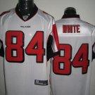 Atlanta Falcons # 84 White NFL Jersey White