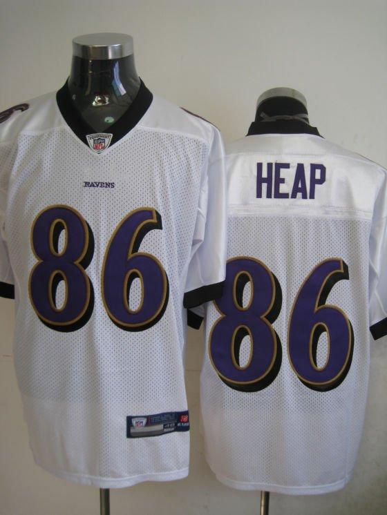 Baltimore Ravens # 86 Heap NFL Jersey White