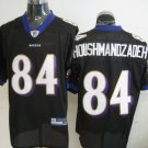 Baltimore Ravens # 84 Houshmandzadeh NFL Jersey Black