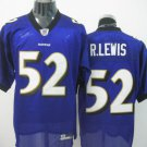 Baltimore Ravens # 52 Lewis NFL Jersey Purple