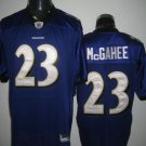 Baltimore Ravens # 23 Mcgahee NFL Jersey Purple