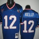 Buffalo Bills # 12 Kelly NFL Jersey Blue