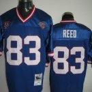Buffalo Bills # 83 Reed NFL Jersey Blue