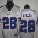 Buffalo Bills # 28 Spiller NFL Jersey White