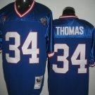 Buffalo Bills # 34 Thomas NFL Jersey Blue