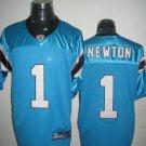 Carolina Panthers # 1  Newton NFL Jersey Blue
