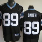 Carolina Panthers # 89 Smith NFL Jersey Black
