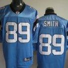 Carolina Panthers # 89 Smith NFL Jersey Blue