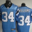 Carolina Panthers # 34 Willliams NFL Jersey Blue