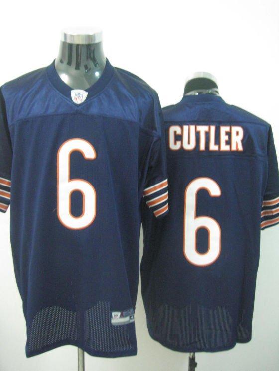 Chicago Bears # 6 Cutler NFL Jersey Blue