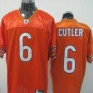 Chicago Bears # 6 Cutler NFL Jersey Orange