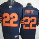 Chicago Bears # 22 Forte NFL Jersey Blue Orange