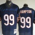 Chicago Bears # 99 Hampton NFL Jersey Blue