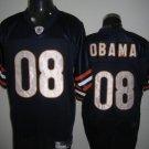 Chicago Bears # 08 Obama NFL Jersey