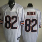 Chicago Bears # 82 Olsen NFL Jersey White