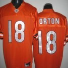 Chicago Bears # 18 Orton NFL Jersey Orange