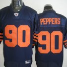 Chicago Bears # 90 Peppers NFL Jersey Blue Orange