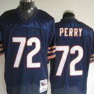 Chicago Bears # 72 Perry NFL Jersey Blue