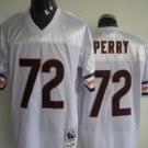 Chicago Bears # 72 Perry NFL Jersey White