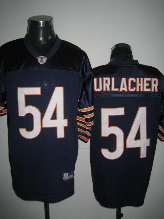 Chicago Bears # 54 Urlacher NFL Jersey Blue